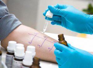 Тестирование кожи